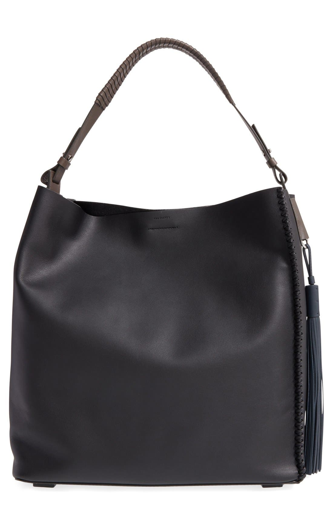 ALLSAINTS 'Pearl' Leather Hobo