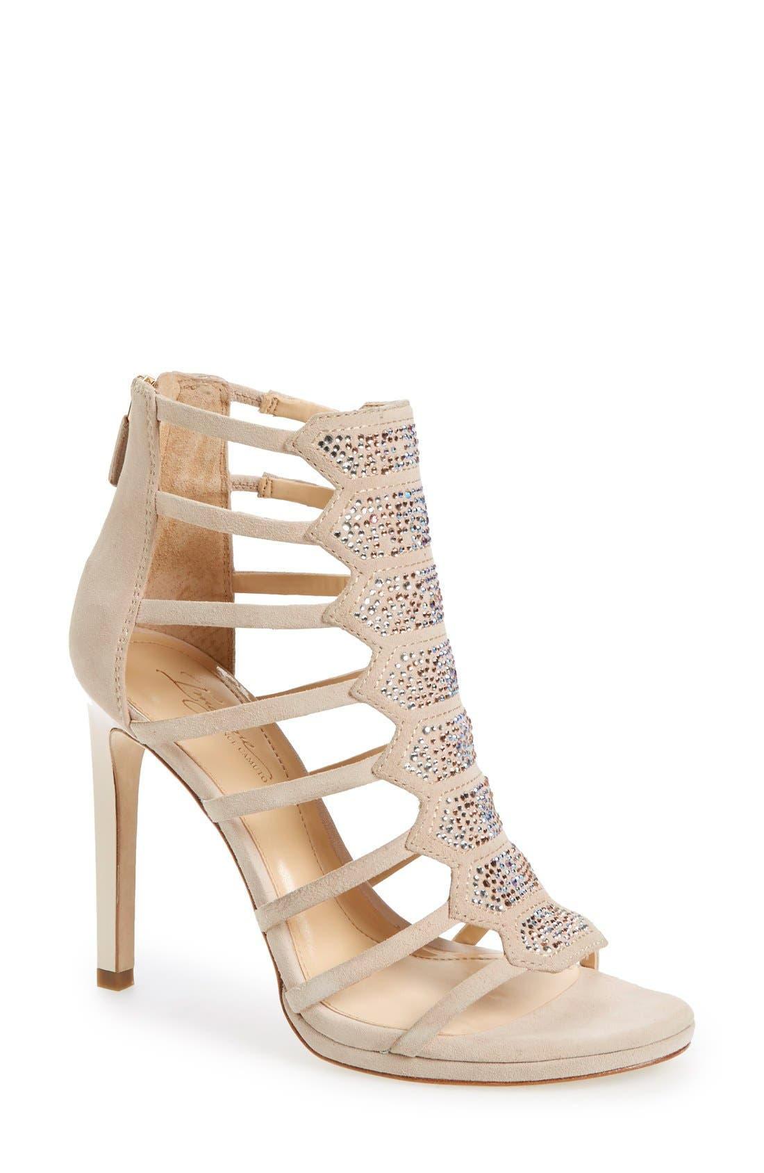Alternate Image 1 Selected - Imagine Vince Camuto 'Gavin' Embellished Cage Sandal (Women)