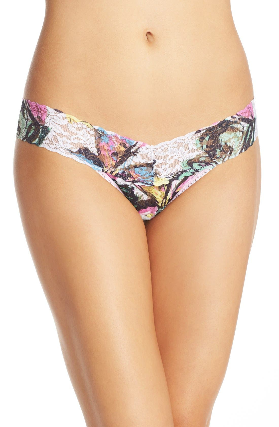 Alternate Image 1 Selected - Hanky Panky 'Tropical Bloom' Low Rise Thong