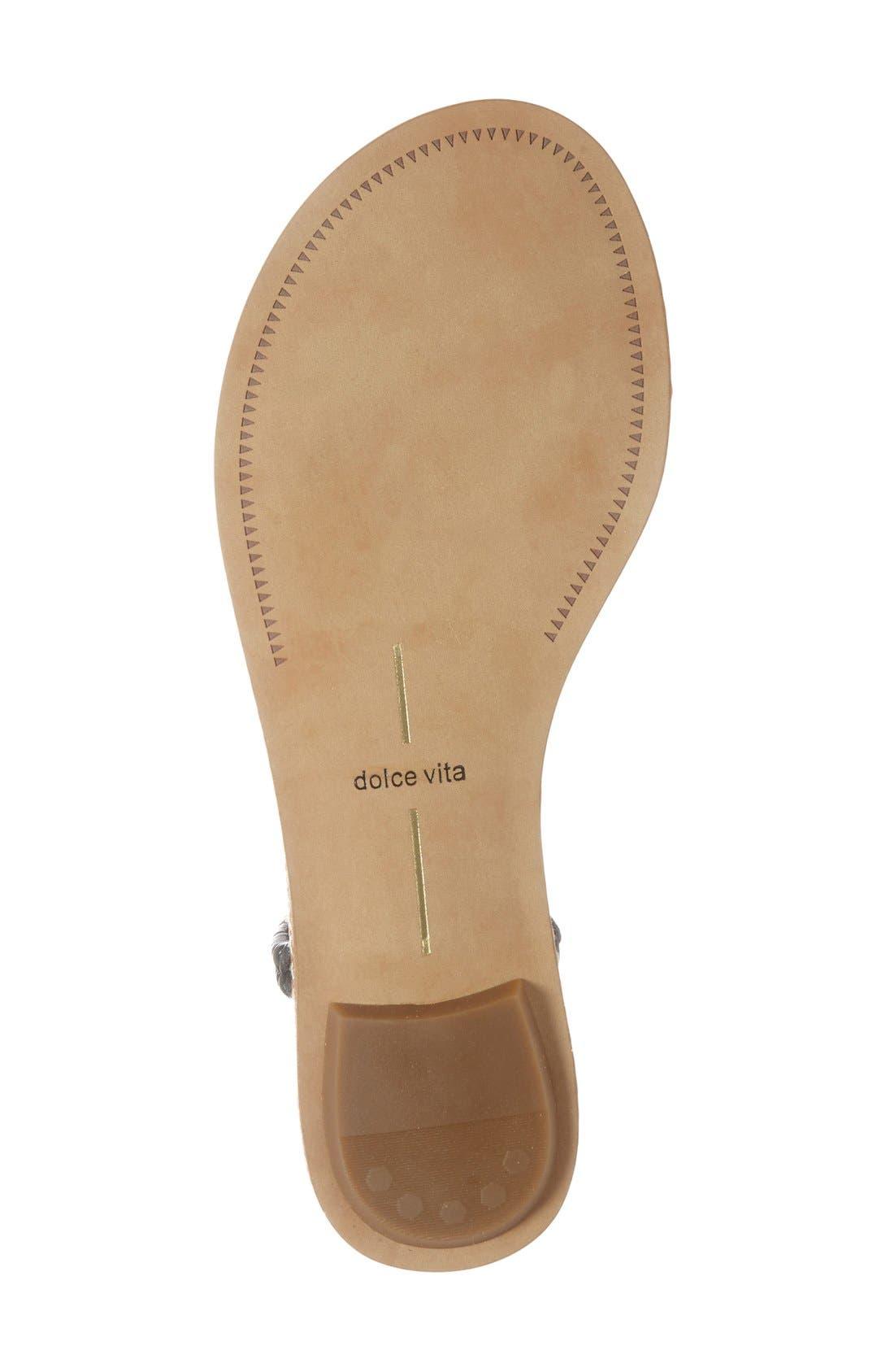 Alternate Image 4  - Dolce Vita 'Kendra' Flat Sandal (Women)
