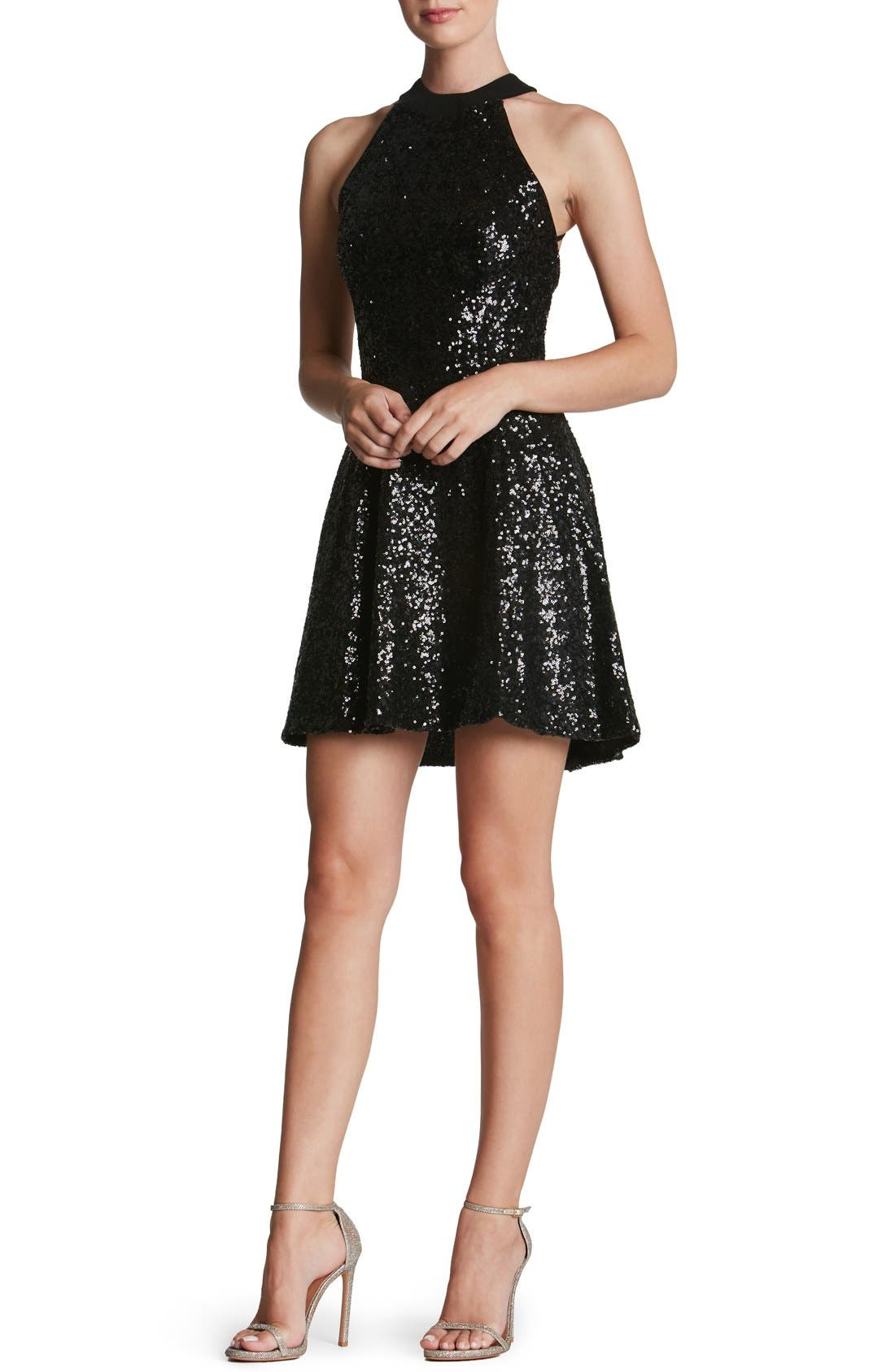 Dress the Population 'Anni' Sequin Minidress