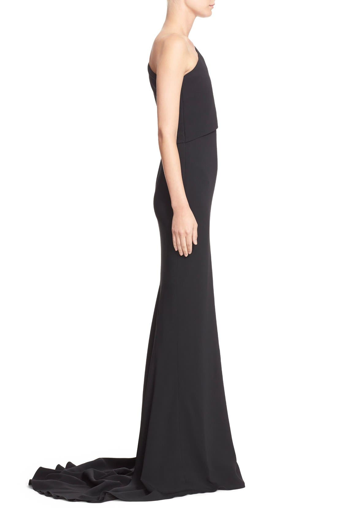 Alternate Image 4  - Stella McCartney 'Shiloh' One-Shoulder Column Gown