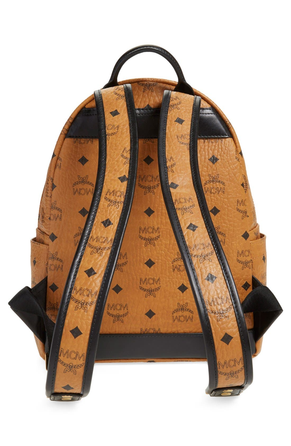 Alternate Image 3  - MCM Backpack 'Small Stark' Coated Canvas Backpack (Nordstrom Exclusive)
