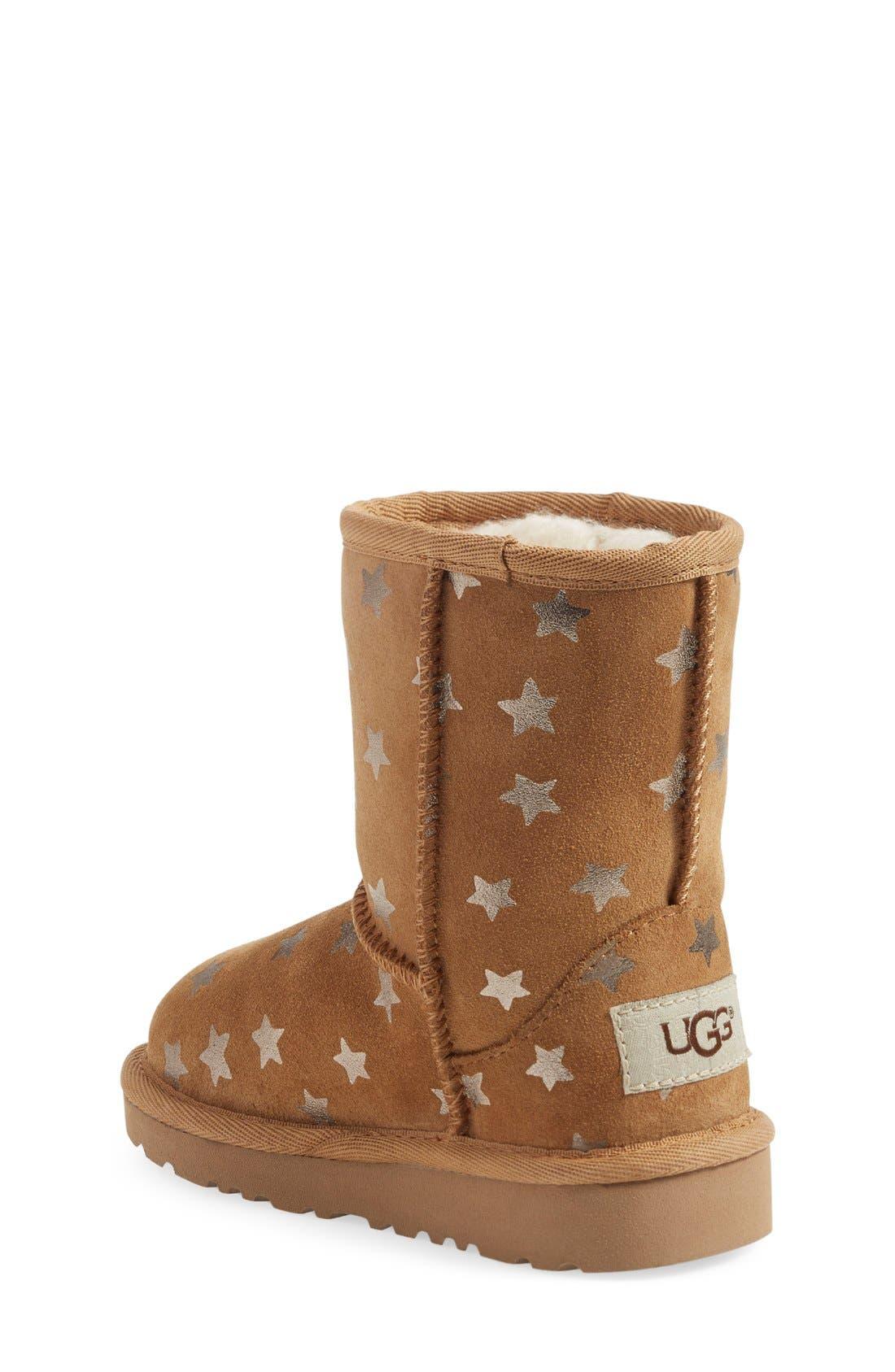 Alternate Image 2  - UGG® Classic - Stars Short Boot (Walker) (Nordstrom Exclusive)