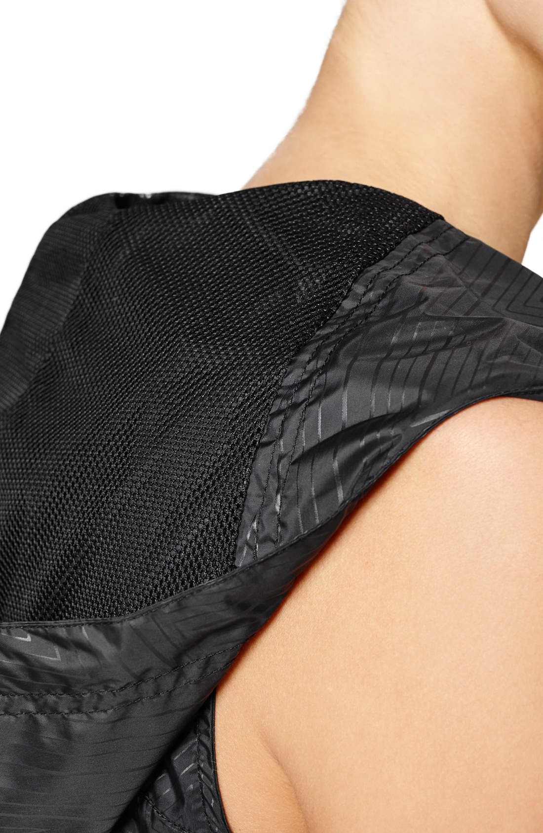 Alternate Image 4  - IVY PARK® Reflective Print Hooded Sleeveless Jacket