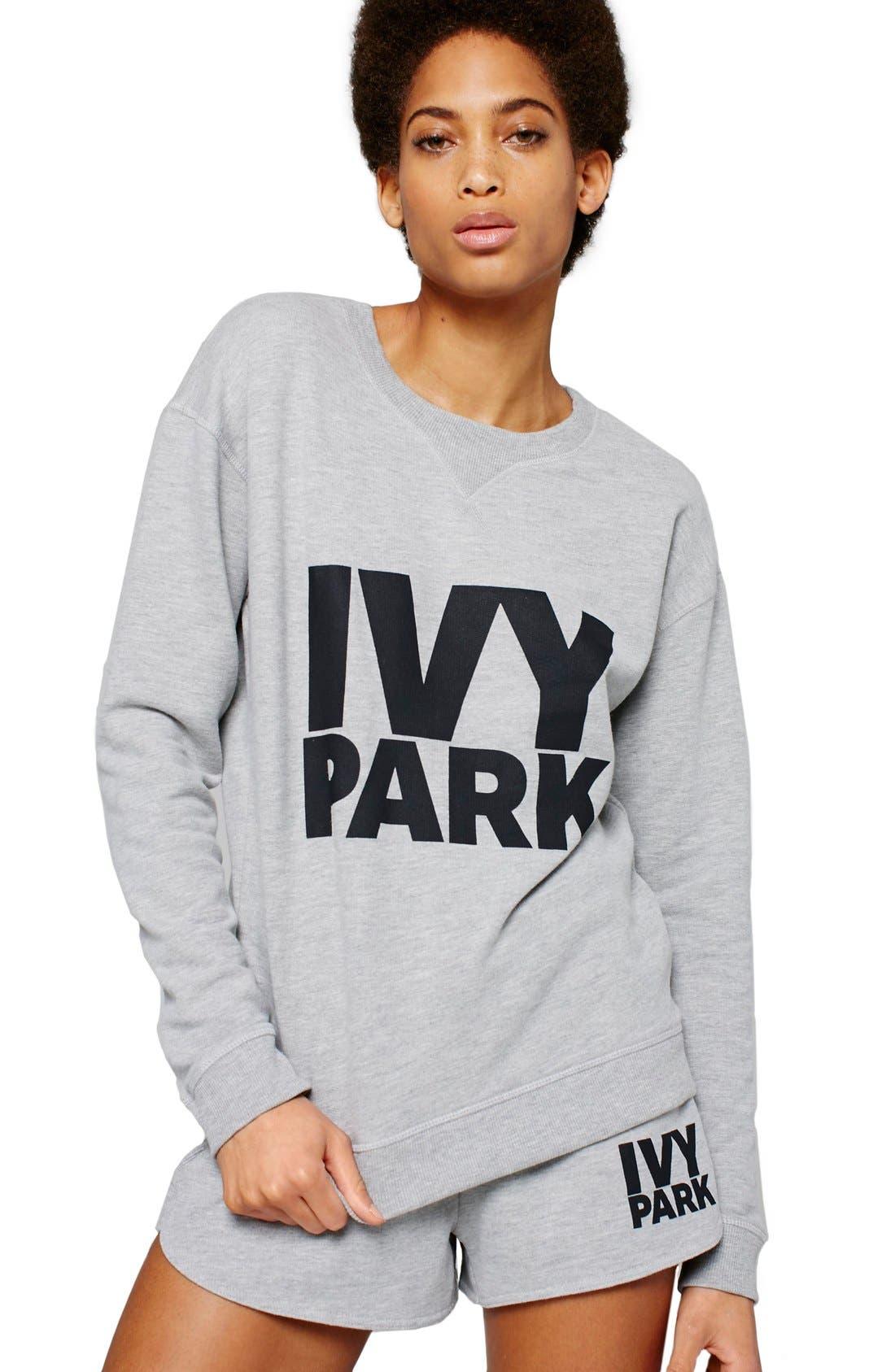 Alternate Image 5  - IVY PARK® Logo Crewneck Sweatshirt