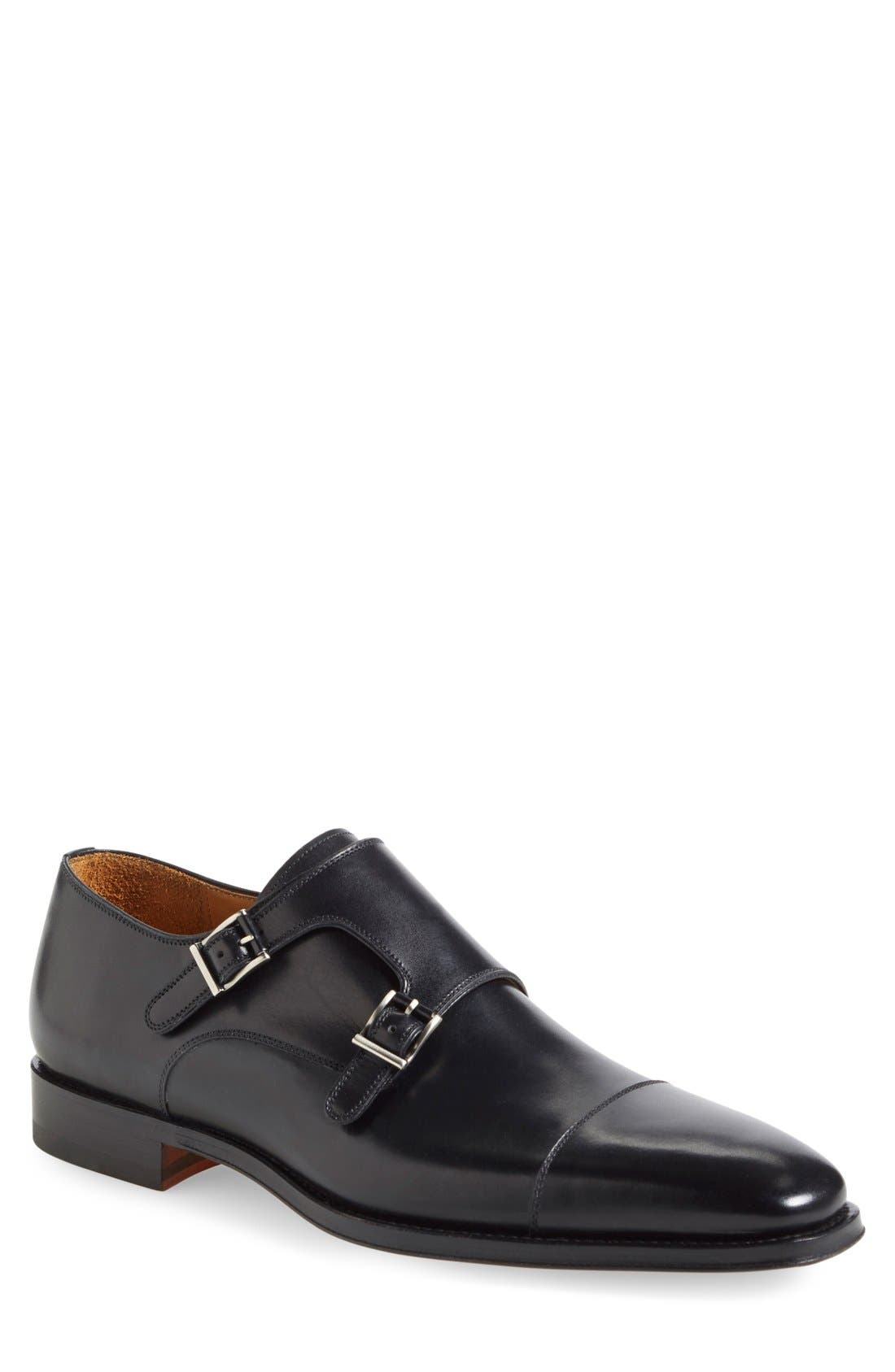 Magnanni 'Cotillas' Double Monk Strap Shoe (Men)