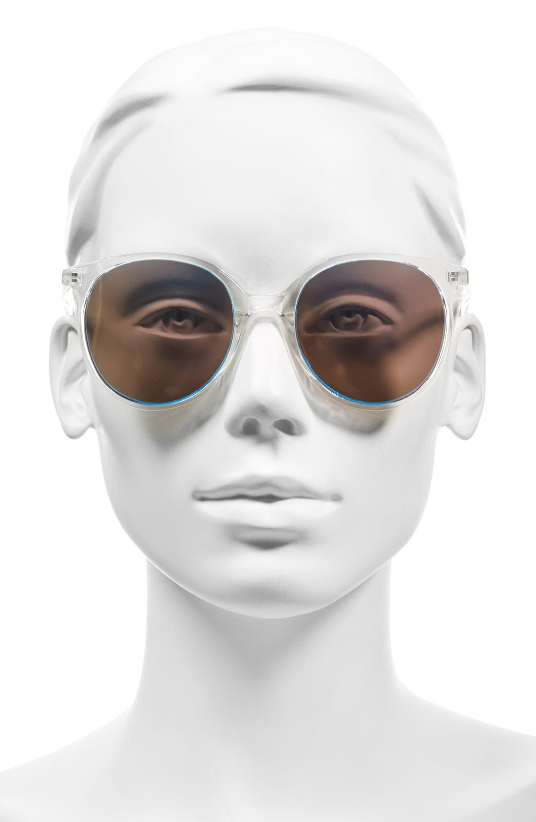 Alternate Image 2  - BP. Mirrored Round Sunglasses