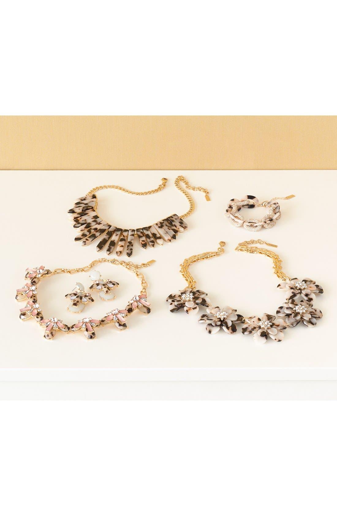 Alternate Image 4  - BaubleBar 'Twiggy' Floral Collar Necklace