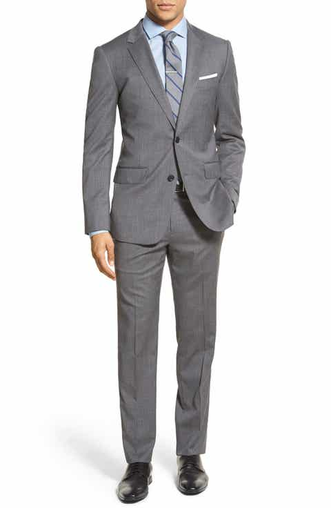 Bonobos 'Jetsetter' Trim Fit Solid Stretch Jacket   Trousers