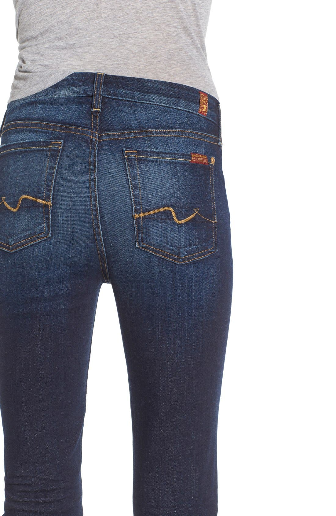 Alternate Image 4  - 7 For All Mankind® 'Kimmie' Straight Leg Jeans