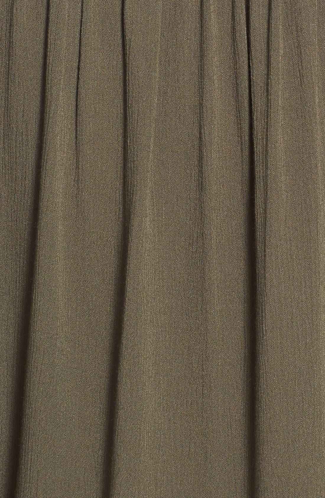 Alternate Image 5  - Bobeau Sleeveless High/Low Peasant Tunic