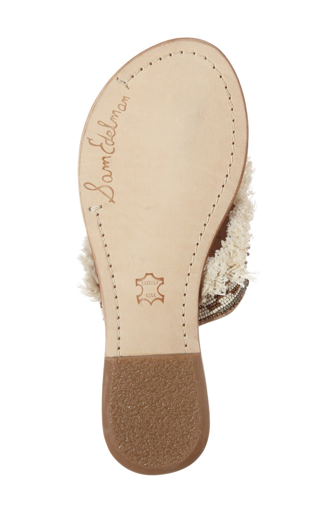 Alternate Image 4  - Sam Edelman 'Kennedy' Beaded Sandal (Women)