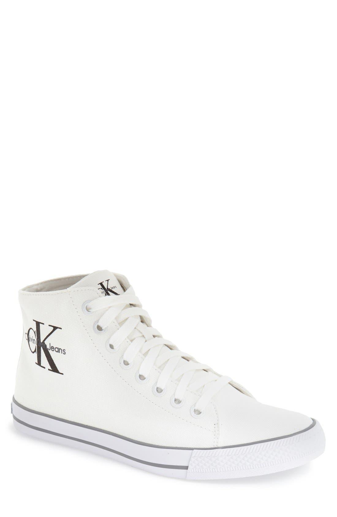 CALVIN KLEIN JEANS 'Ozzy' High Top Sneaker