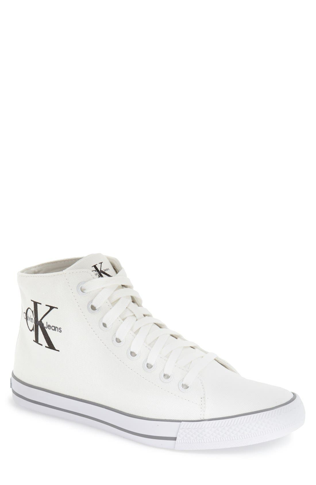 Calvin Klein Jeans 'Ozzy' High Top Sneaker (Men)
