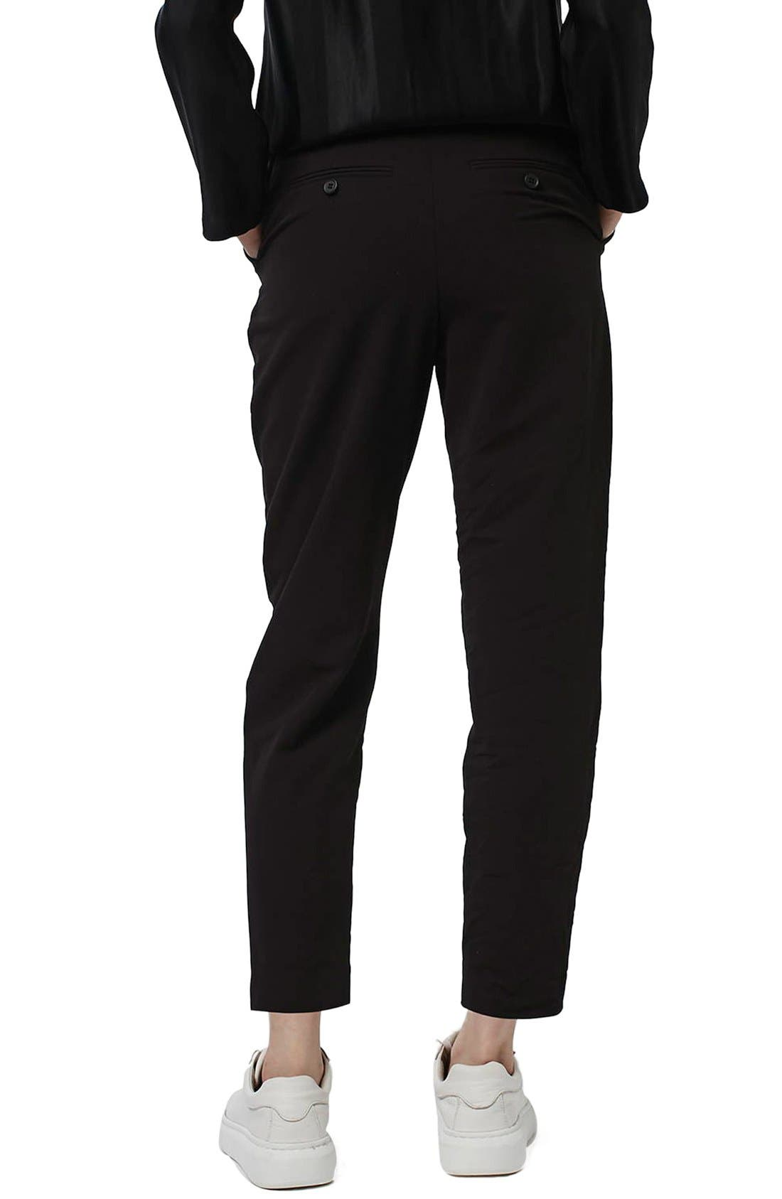Alternate Image 3  - Topshop Pleated Tapered Trousers