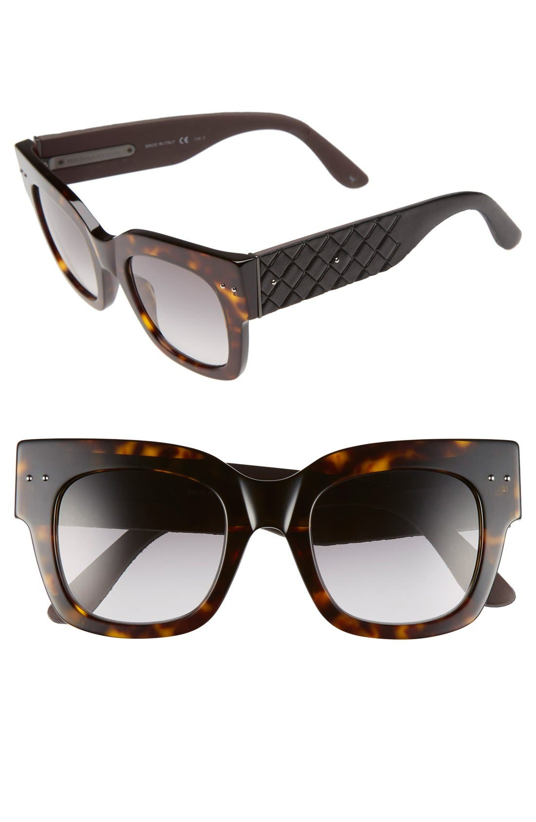 BOTTEGA VENETA 49mm Sunglasses