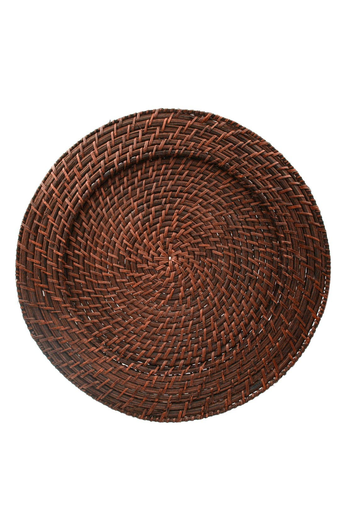 American Atelier Round Rattan Charger