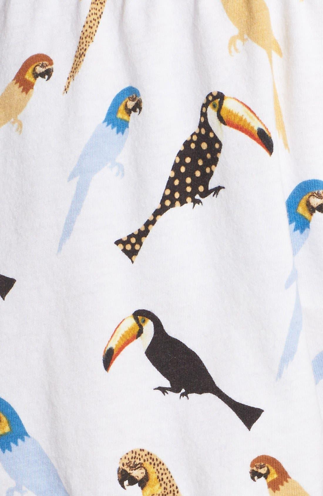 Alternate Image 5  - PJ Salvage Bird Print Pajama Shorts