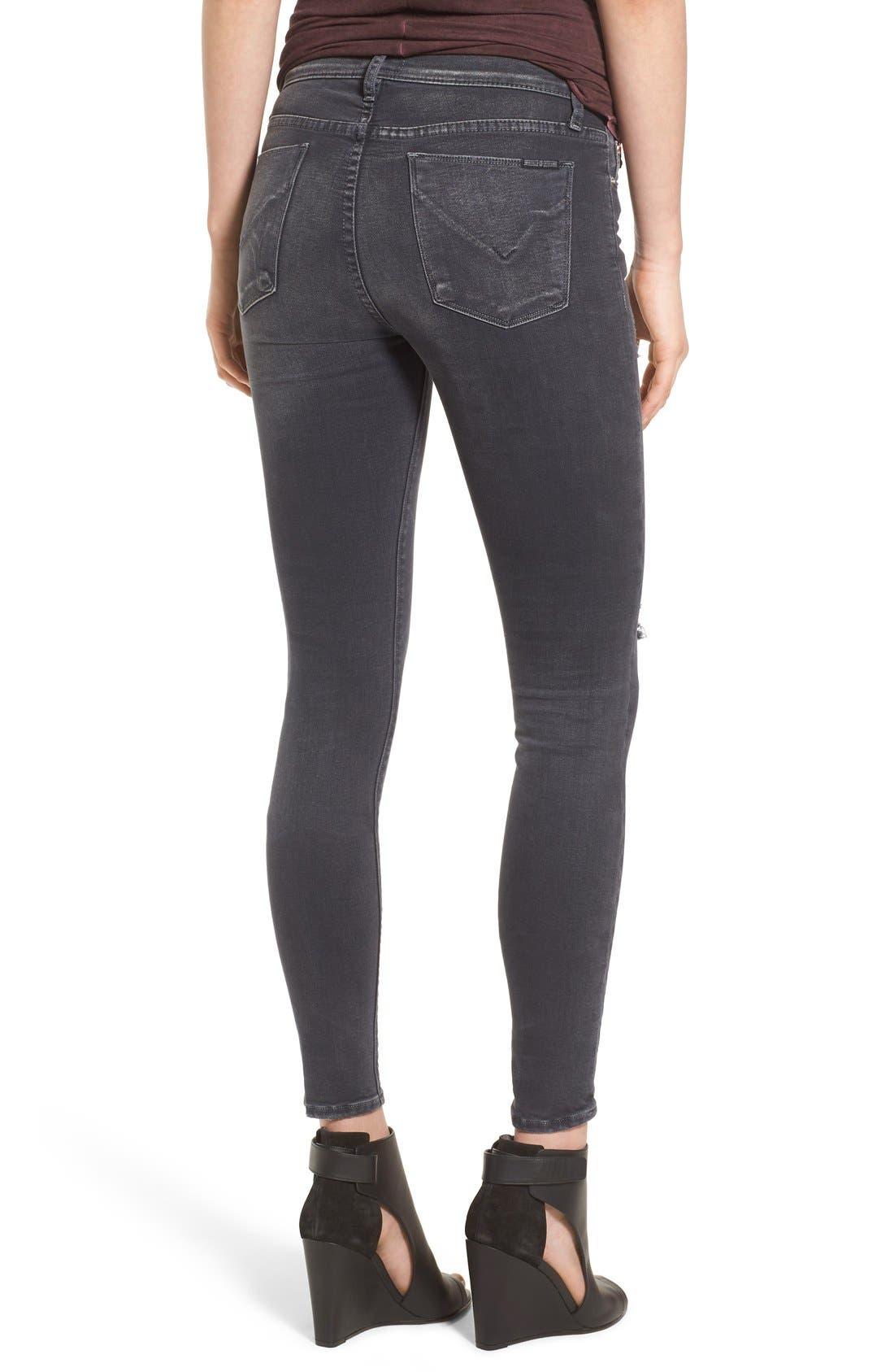 Alternate Image 2  - Hudson Jeans Krista Ankle Jeans (Stormy Horizon)