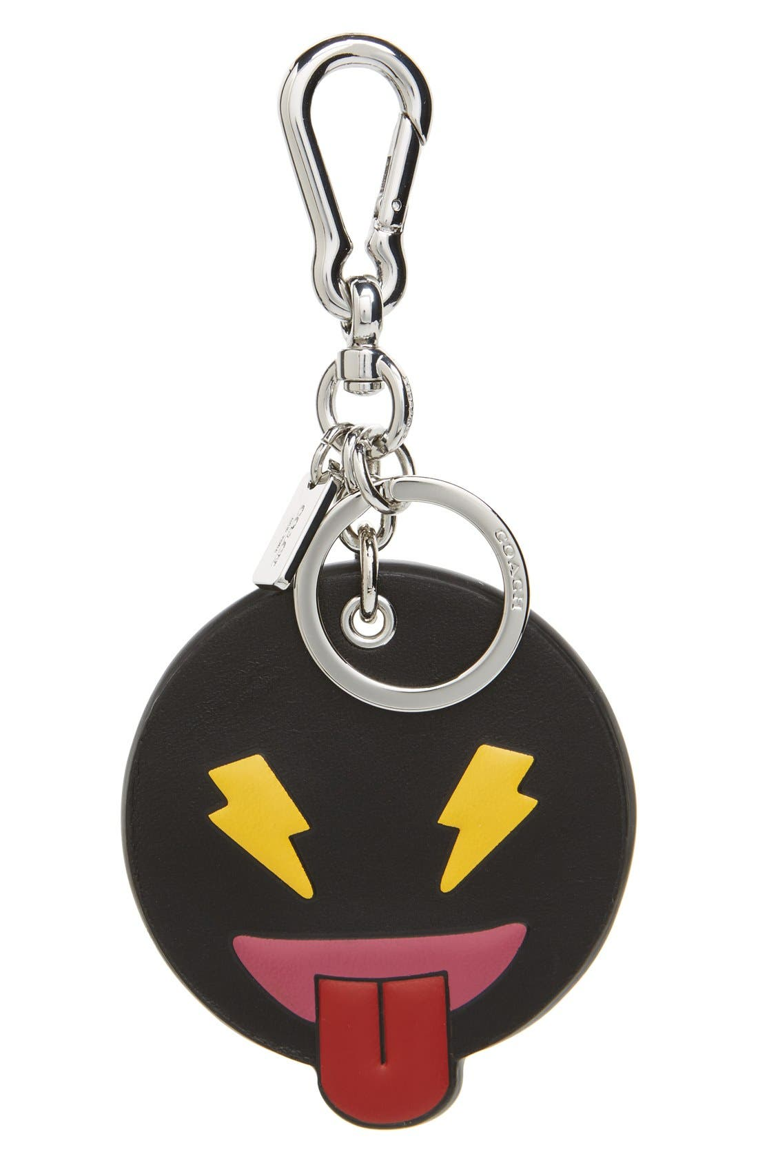 Alternate Image 1 Selected - COACH 'Cheeky Emoji' Bag Charm