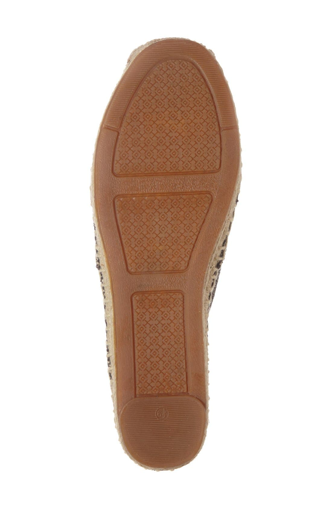 Alternate Image 4  - Tory Burch 'Lonnie' Espadrille Flat (Women)