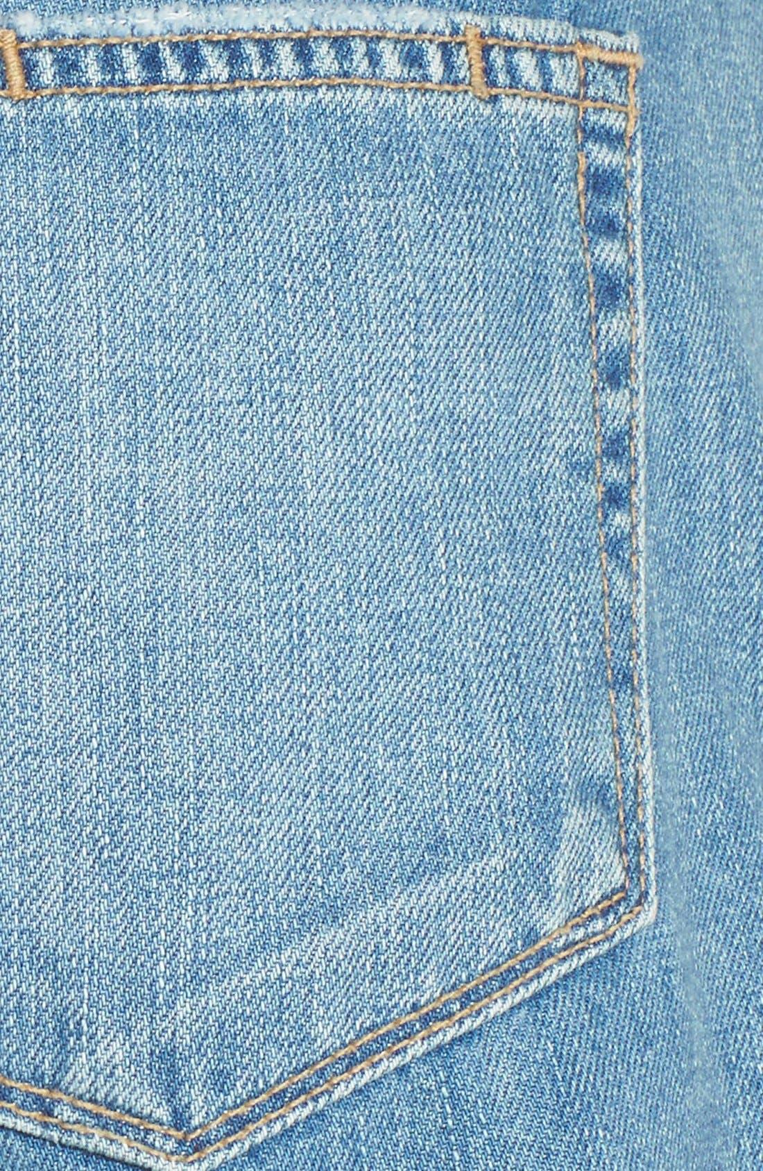 Alternate Image 5  - PAIGE 'Jimmy Jimmy' Denim Shorts (Annora)