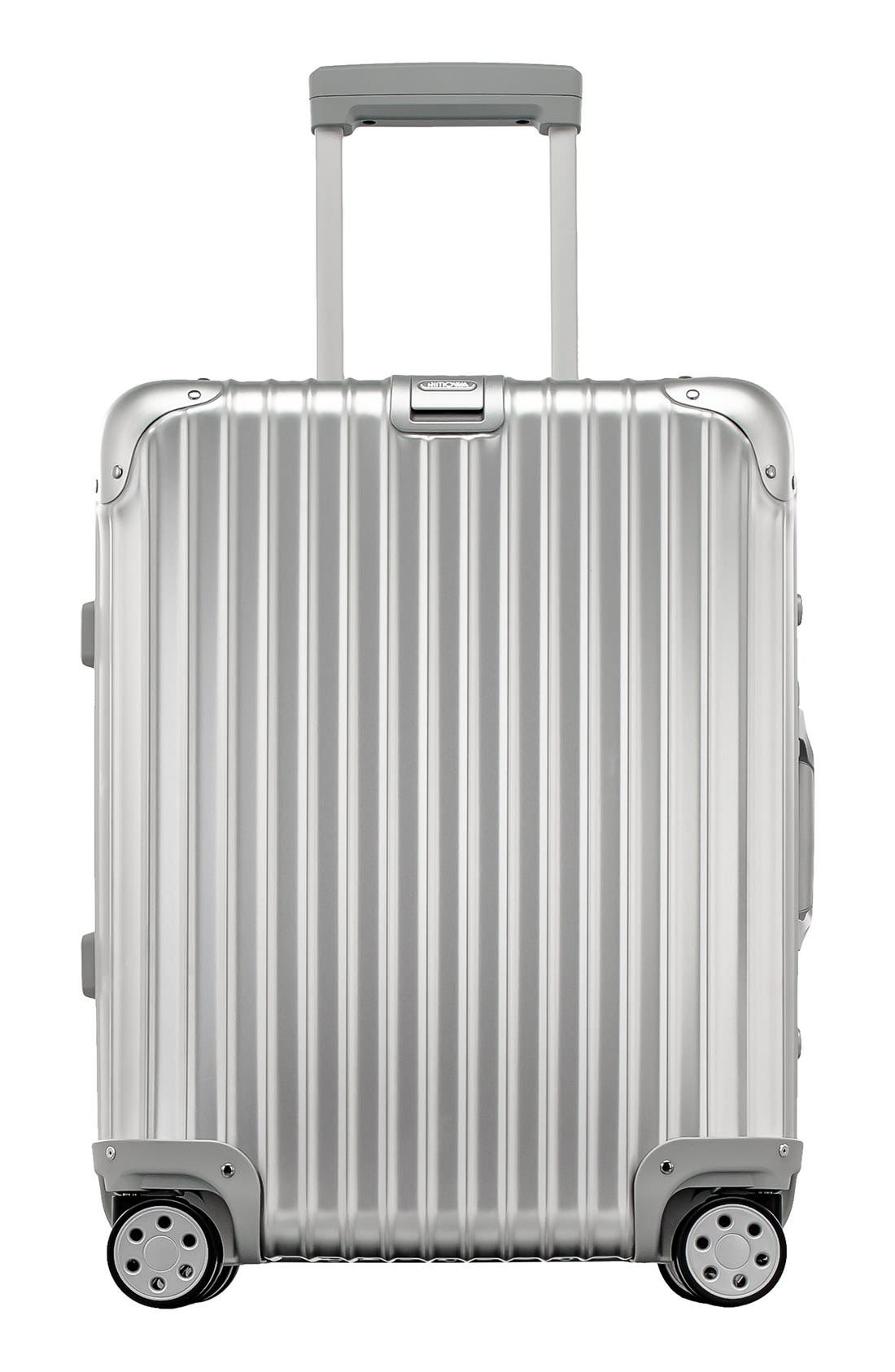 RIMOWA Topas 22 Inch Cabin Multiwheel® Aluminum Carry-On