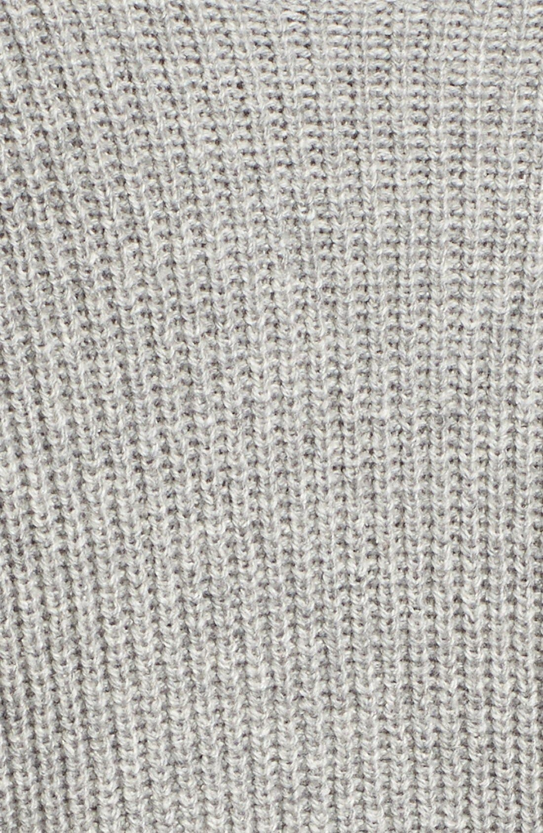 Alternate Image 5  - Leith Cowl Neck Shaker Pullover
