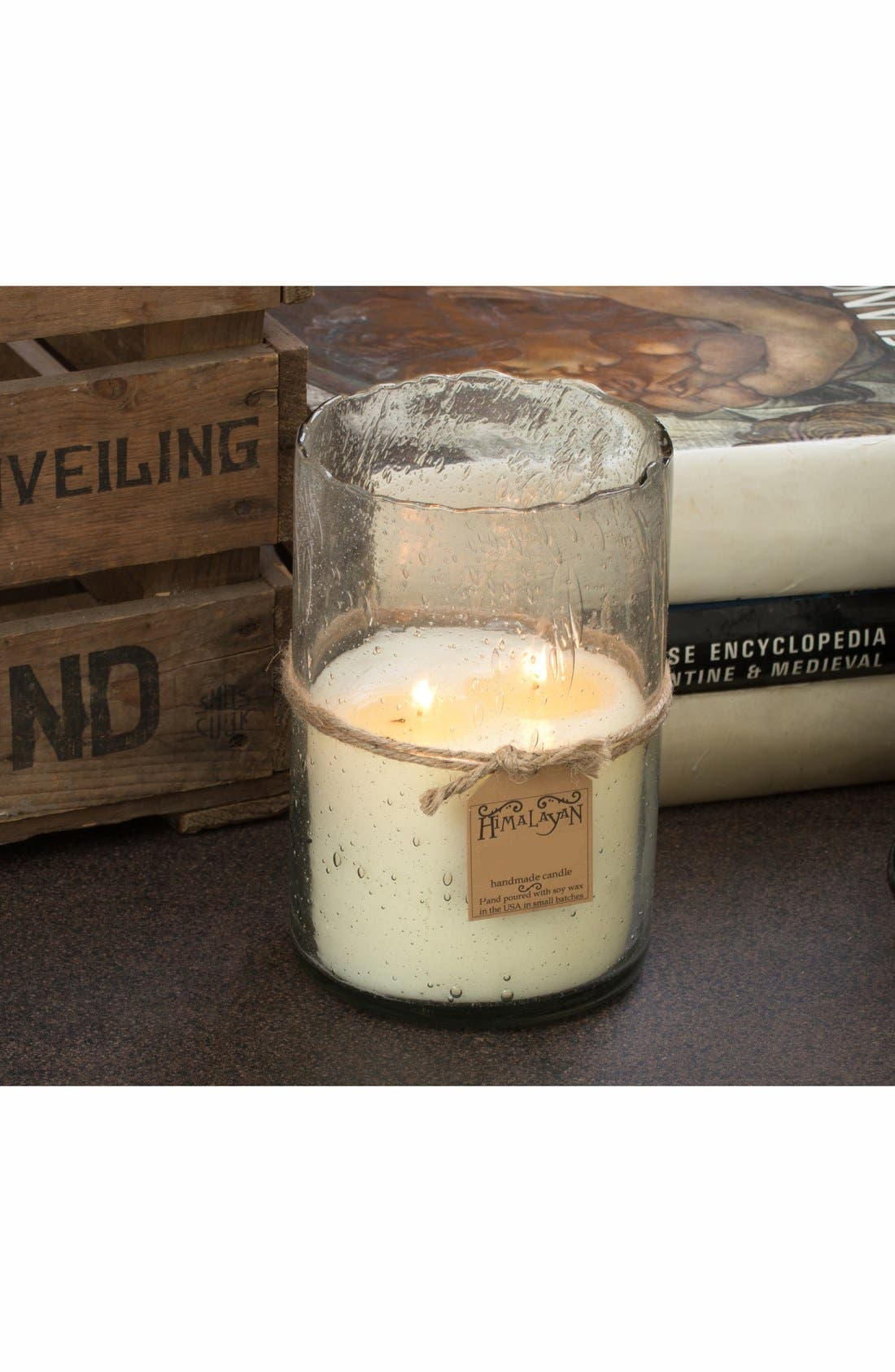 Alternate Image 2  - Himalayan Trading Post Scented Hurricane Candle