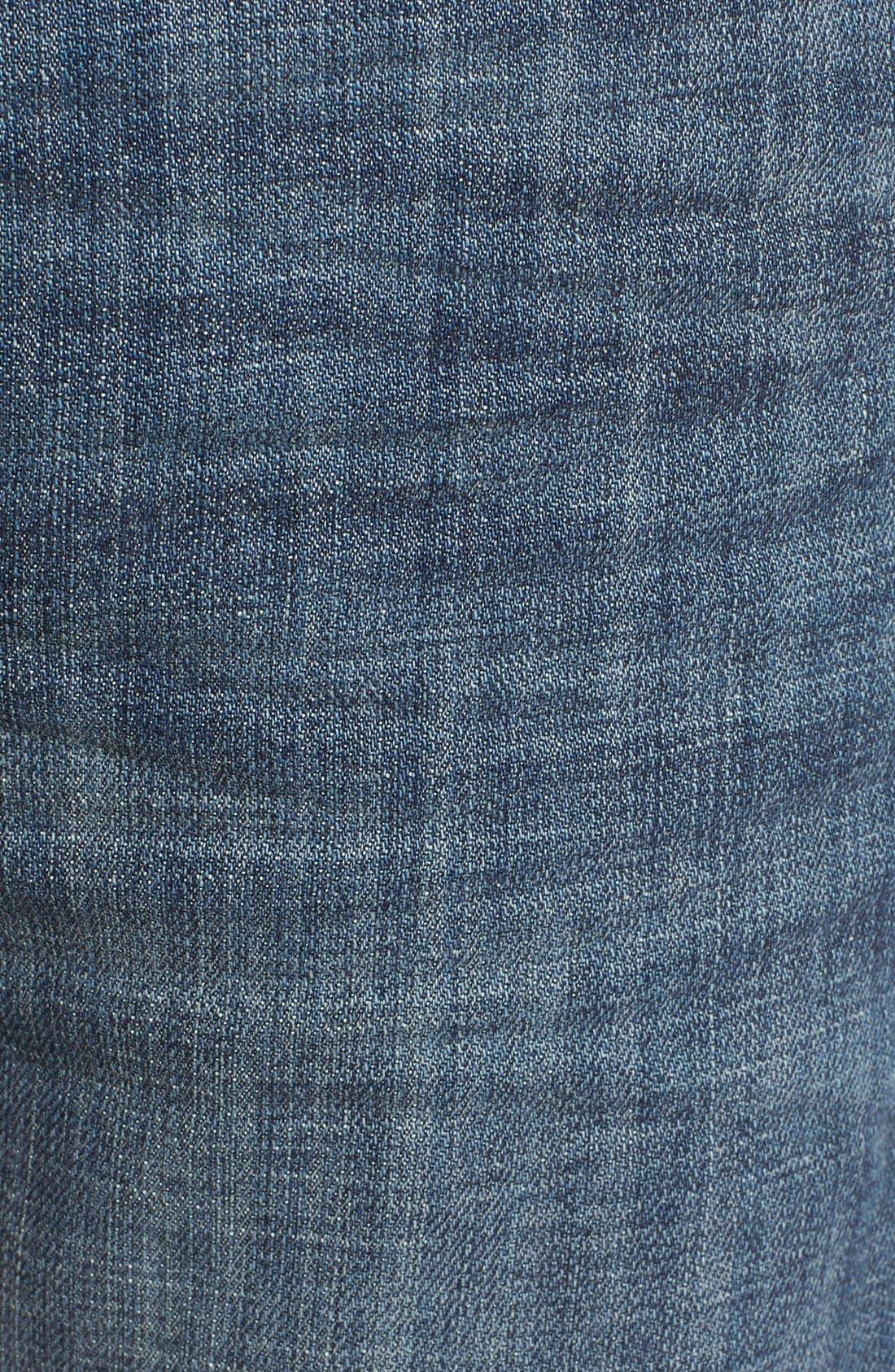 Alternate Image 5  - Treasure&Bond Slim Fit Jeans (Medium Twilight Wash)