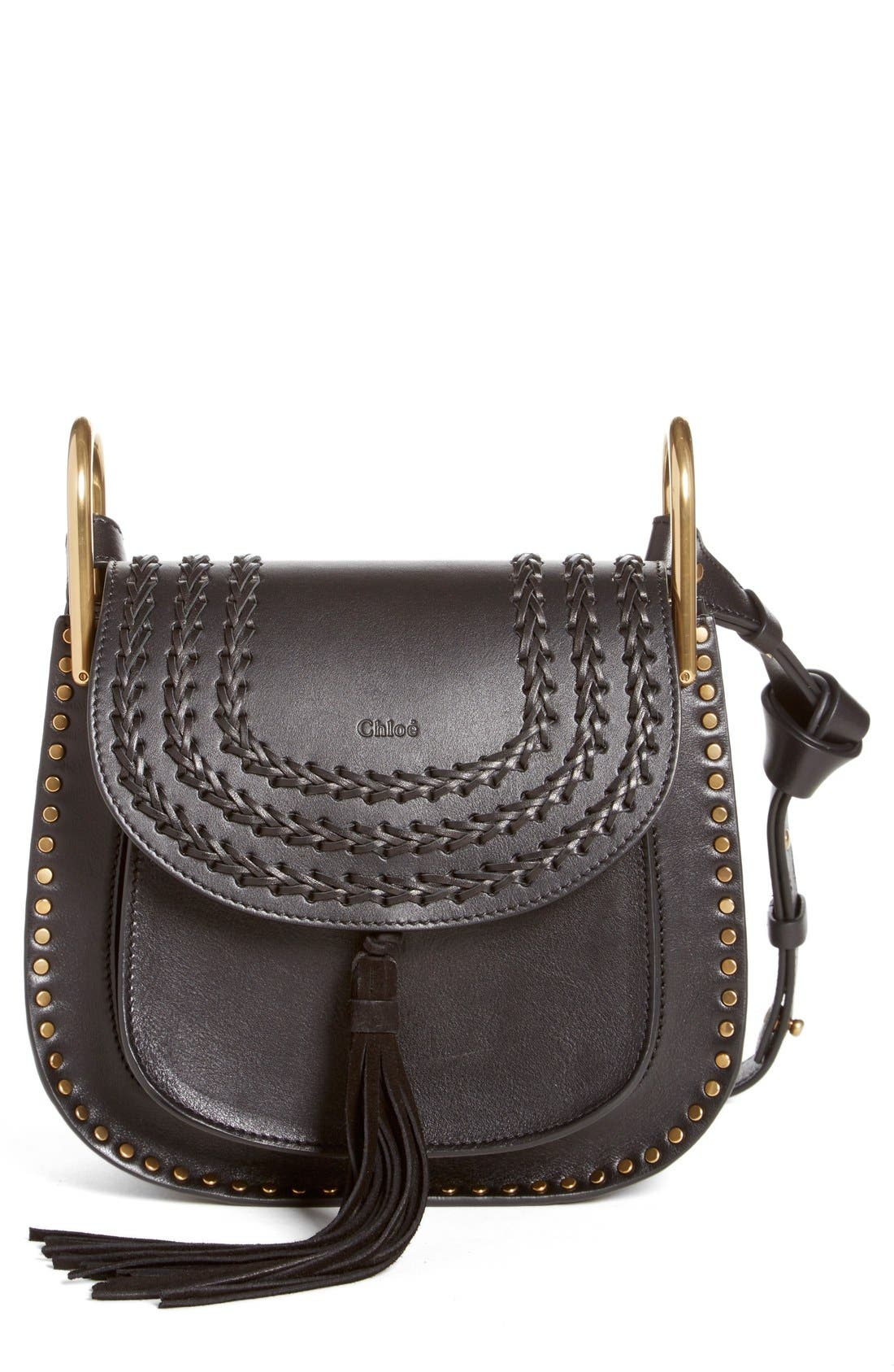 Alternate Image 1 Selected - Chloé 'Medium Hudson' Tassel Leather Shoulder Bag