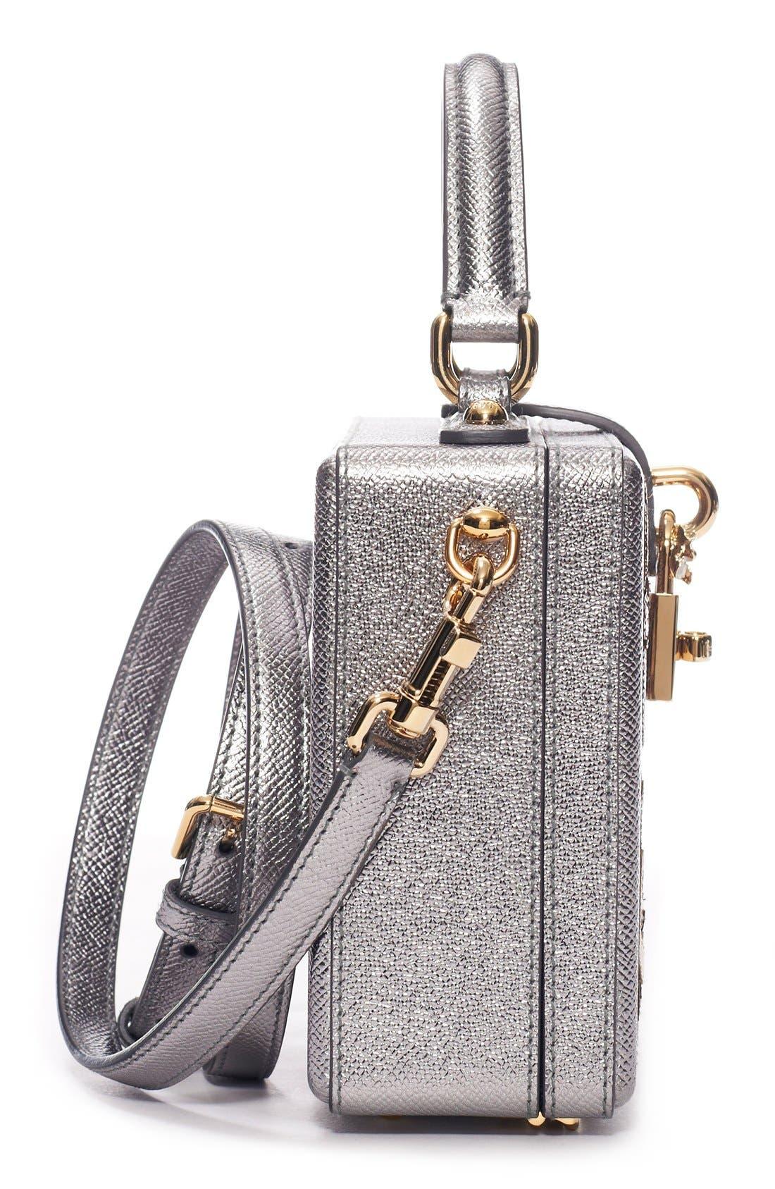Alternate Image 4  - Dolce&Gabbana 'Patch Family' Box Bag