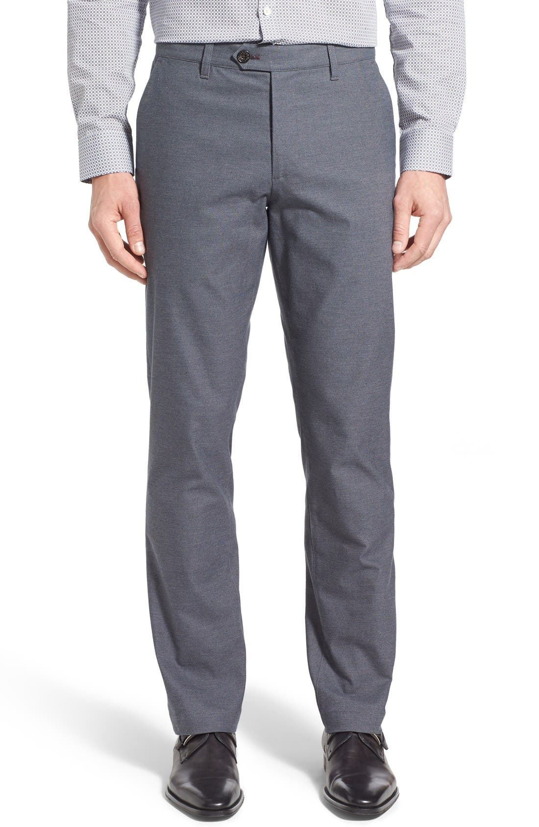 Ted Baker London 'Roynew' Flat Front Pants