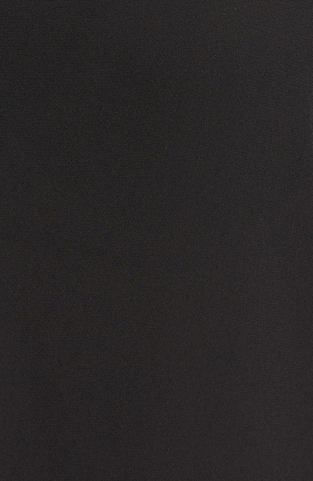 Alternate Image 5  - Pleione High/Low V-Neck Mixed Media Top (Regular & Petite)