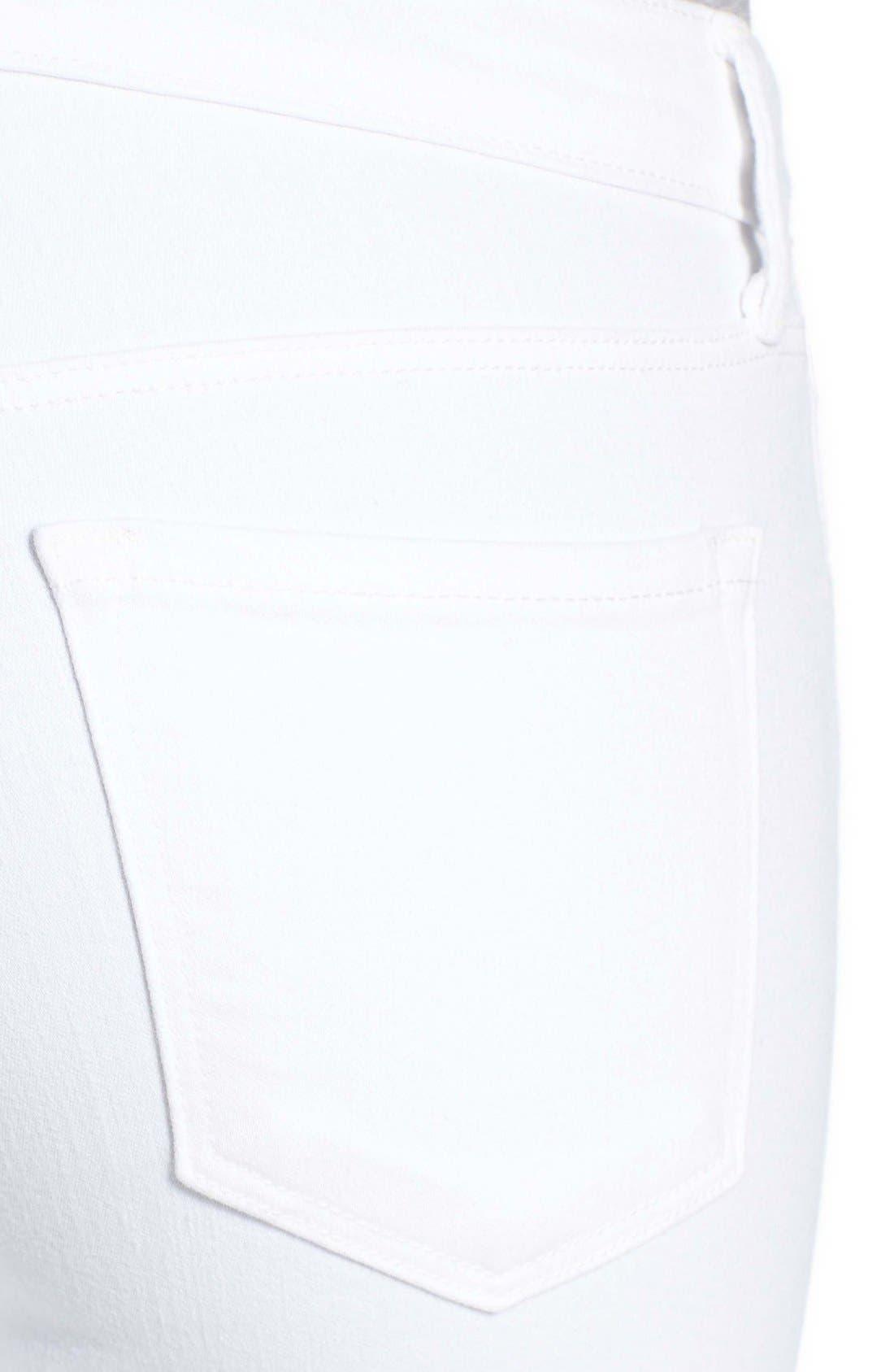 Alternate Image 4  - J Brand Capri Skinny Jeans