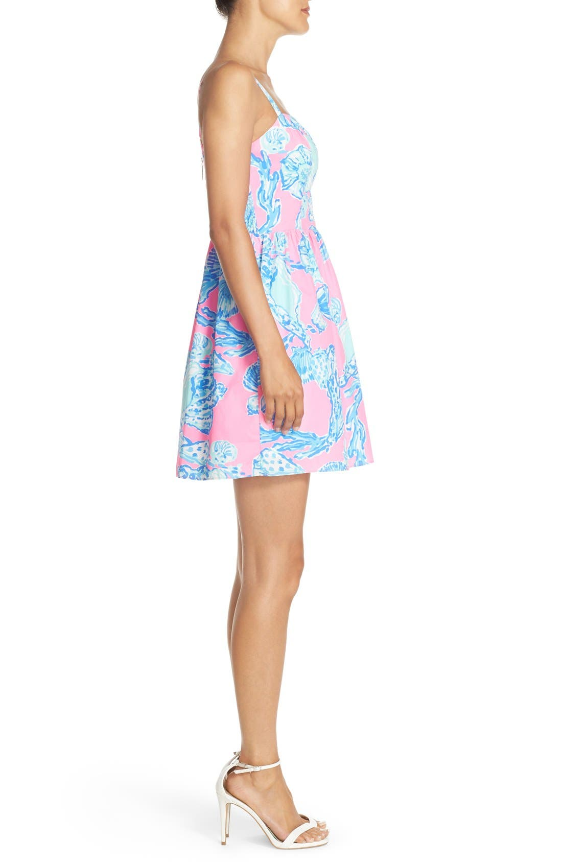 Alternate Image 3  - Lilly Pulitzer® 'Ardleigh' Print Cotton Fit & Flare Dress
