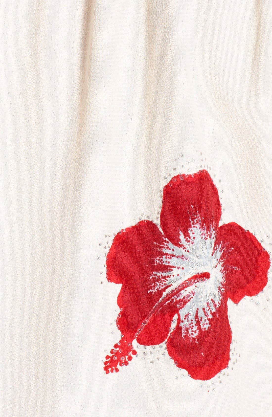 Alternate Image 3  - Saint Laurent Hibiscus Print Crepe Blouse