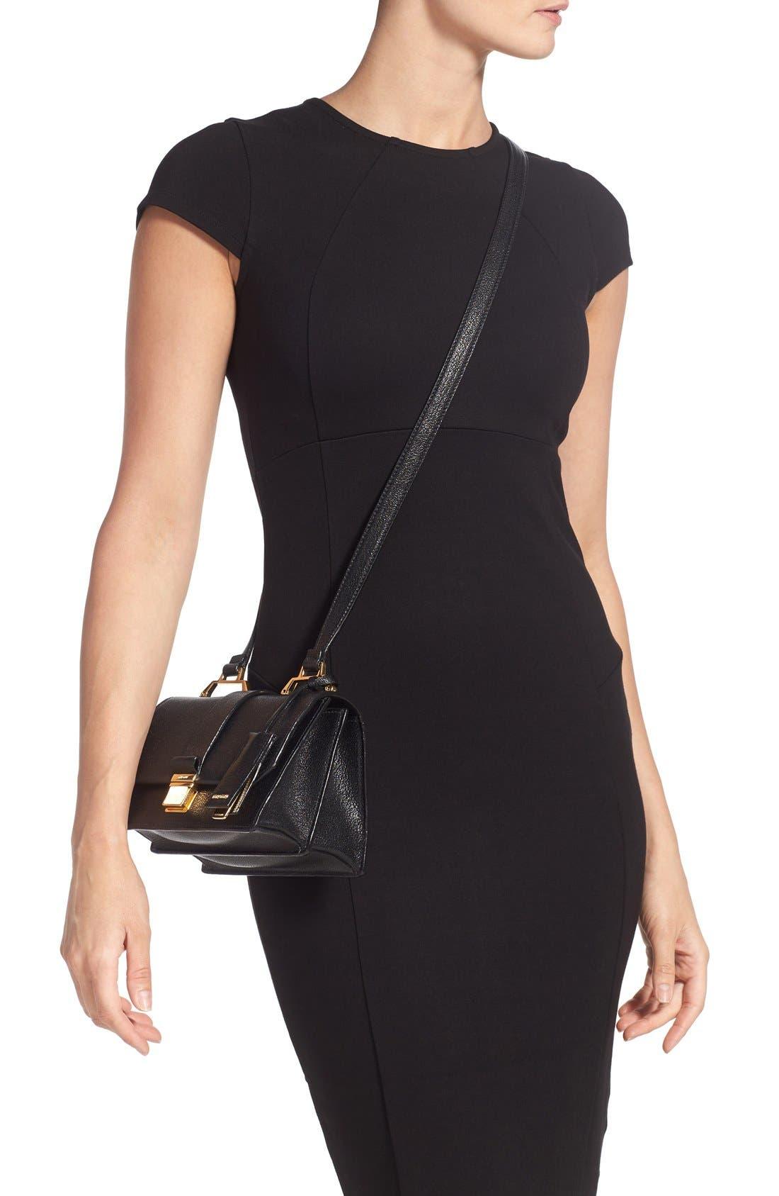 Alternate Image 2  - Miu Miu 'Small Madras' Goatskin Leather Shoulder Bag