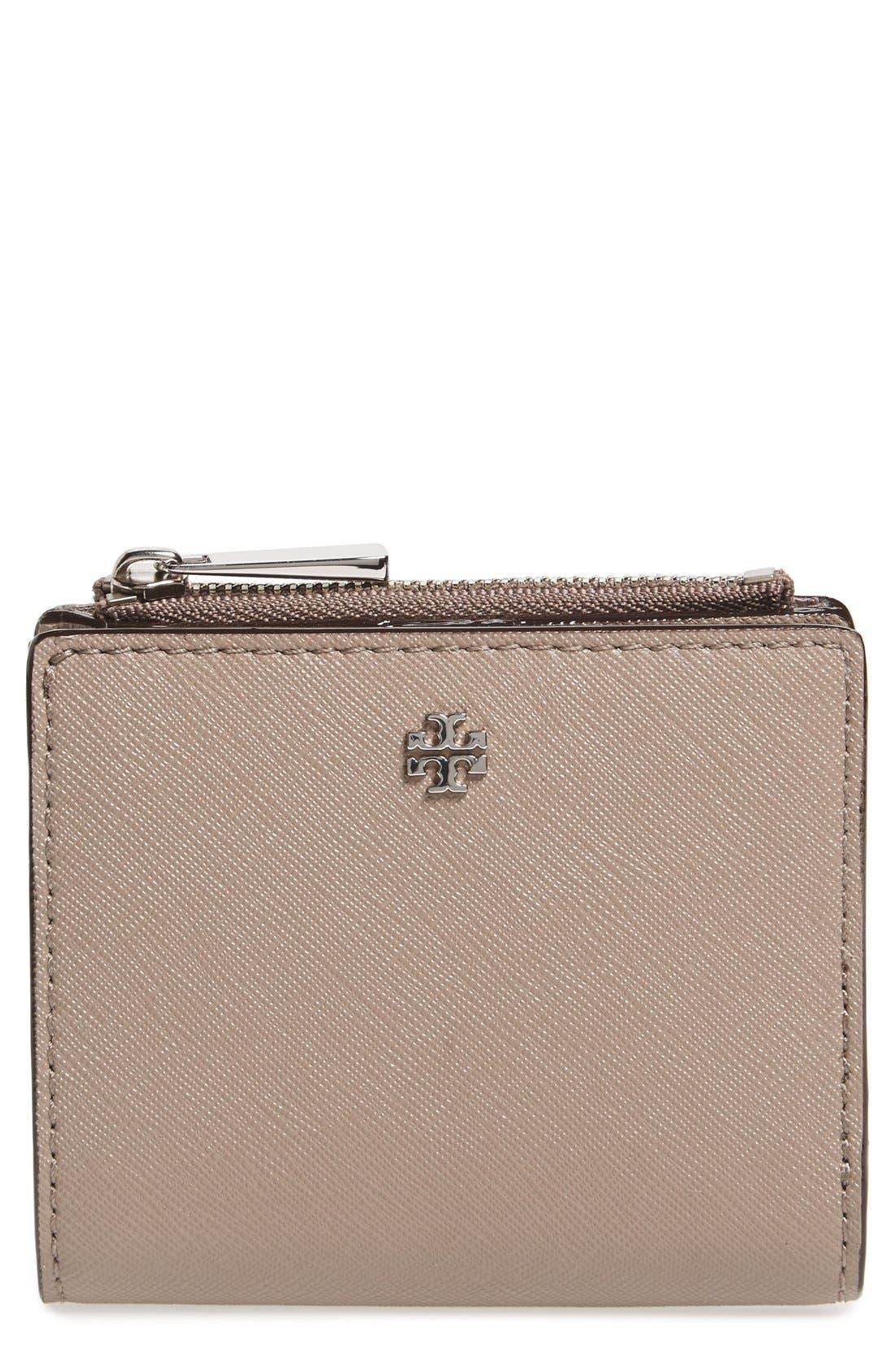 Tory Burch 'Mini Robinson' Leather Wallet