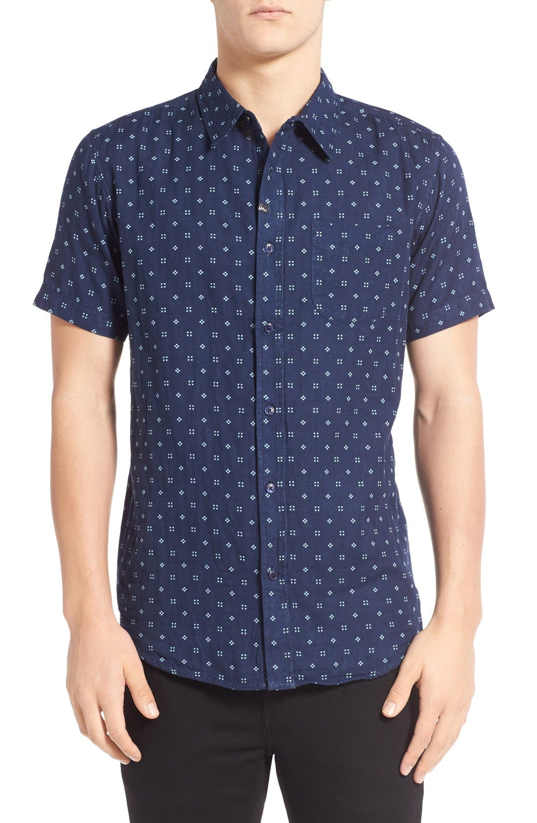 Imperial Motion 'Doubles' Print Short Sleeve Woven Shirt
