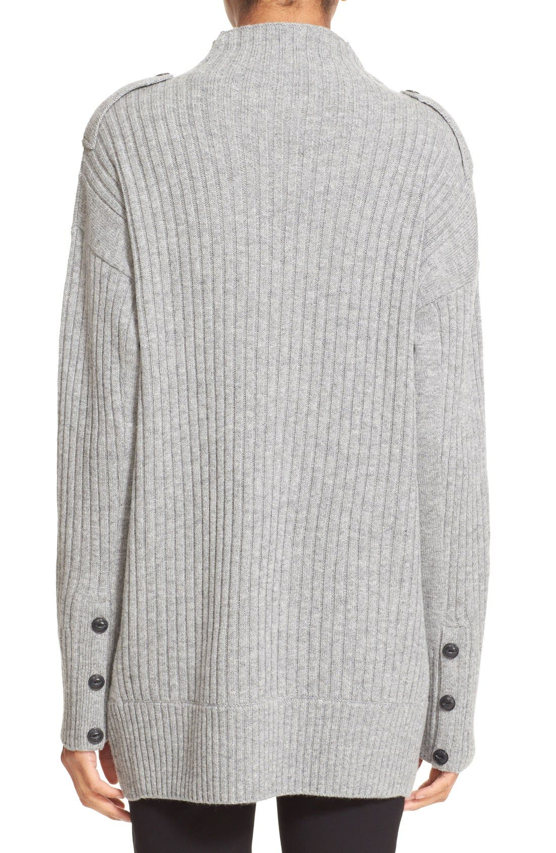 Alternate Image 2  - rag & bone 'Dale' Merino Wool Turtleneck Sweater