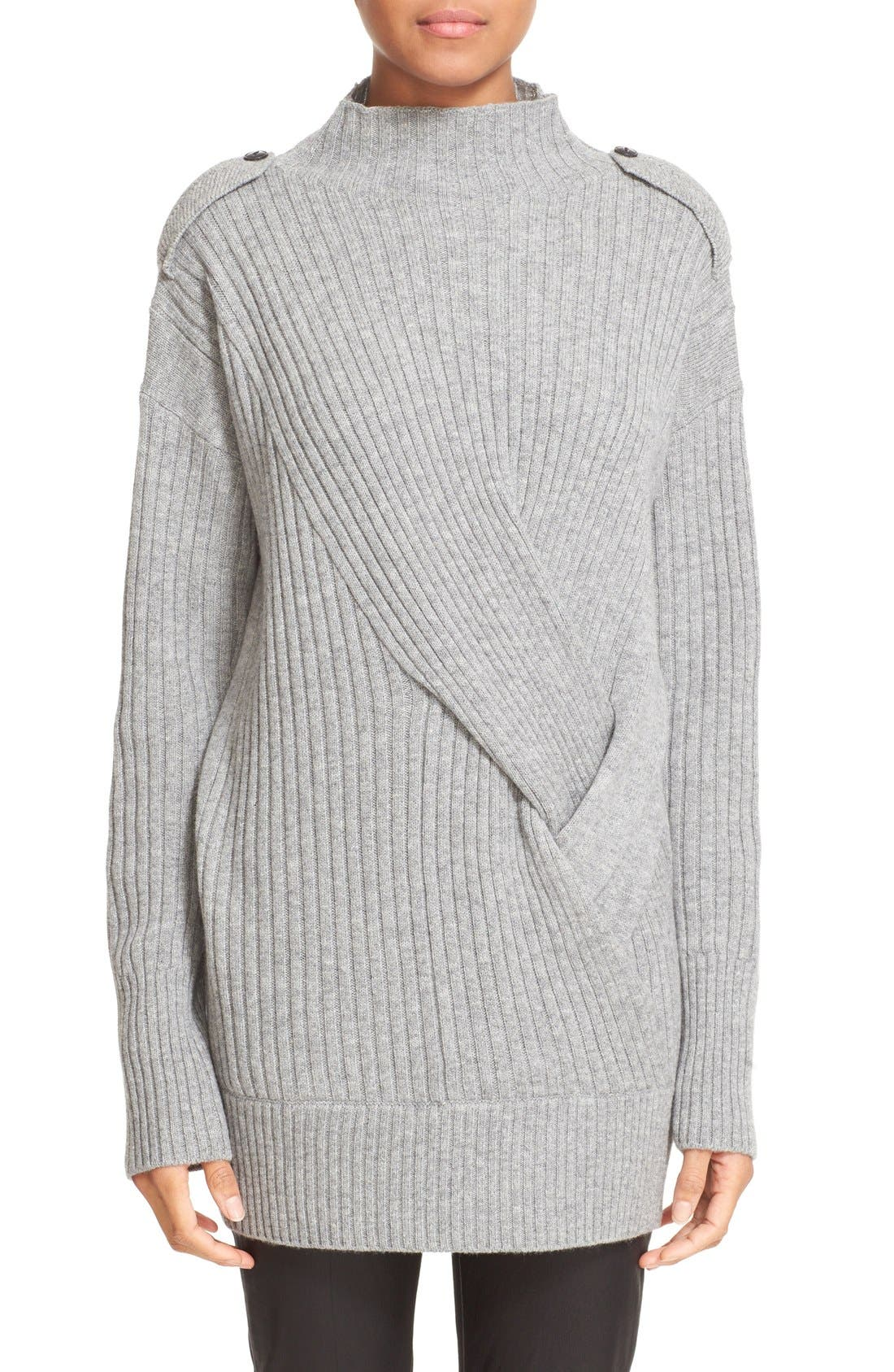 Alternate Image 1 Selected - rag & bone 'Dale' Merino Wool Turtleneck Sweater