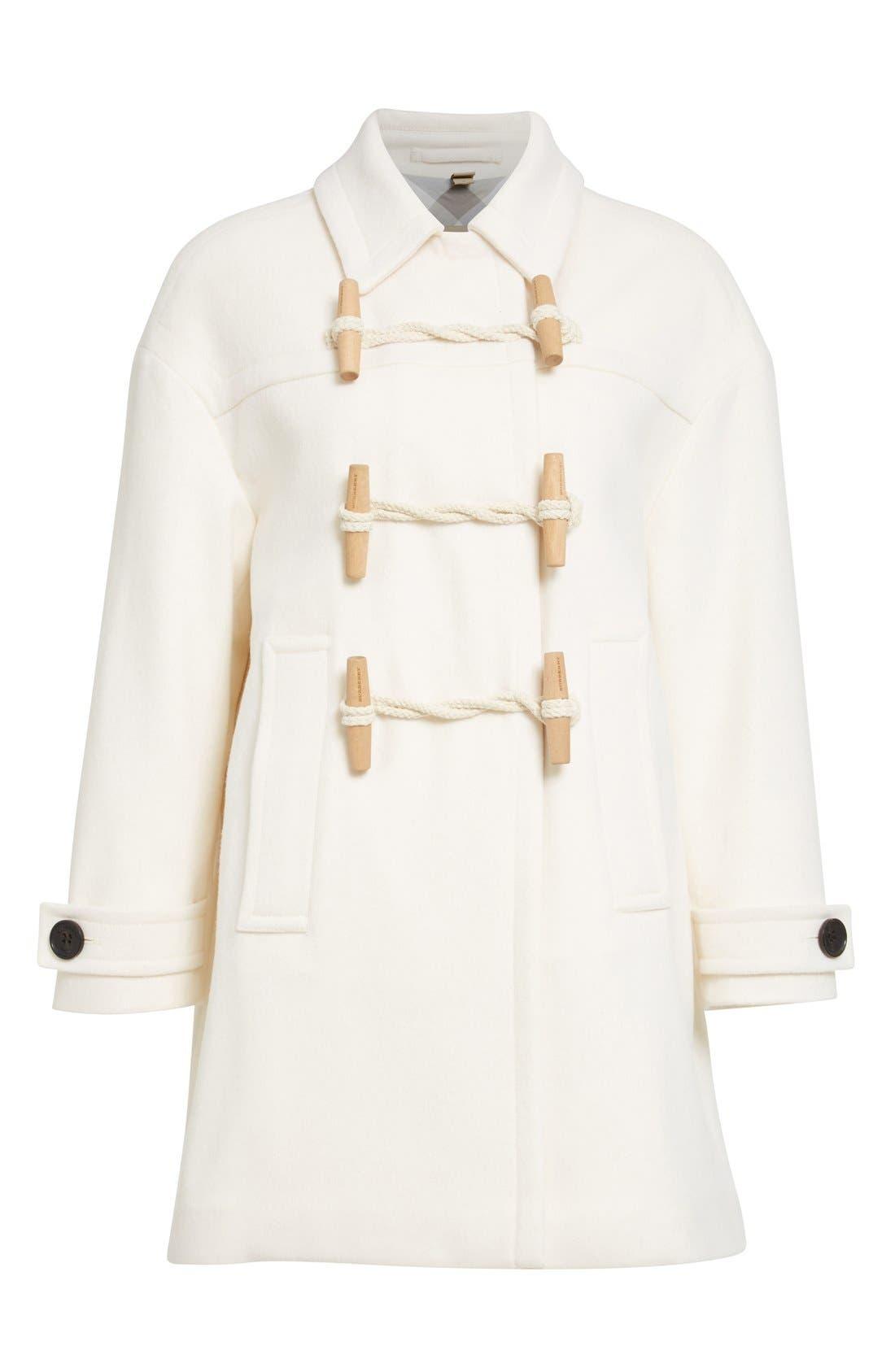 Alternate Image 4  - Burberry Brit 'Plumfield' Cashmere Duffle Coat