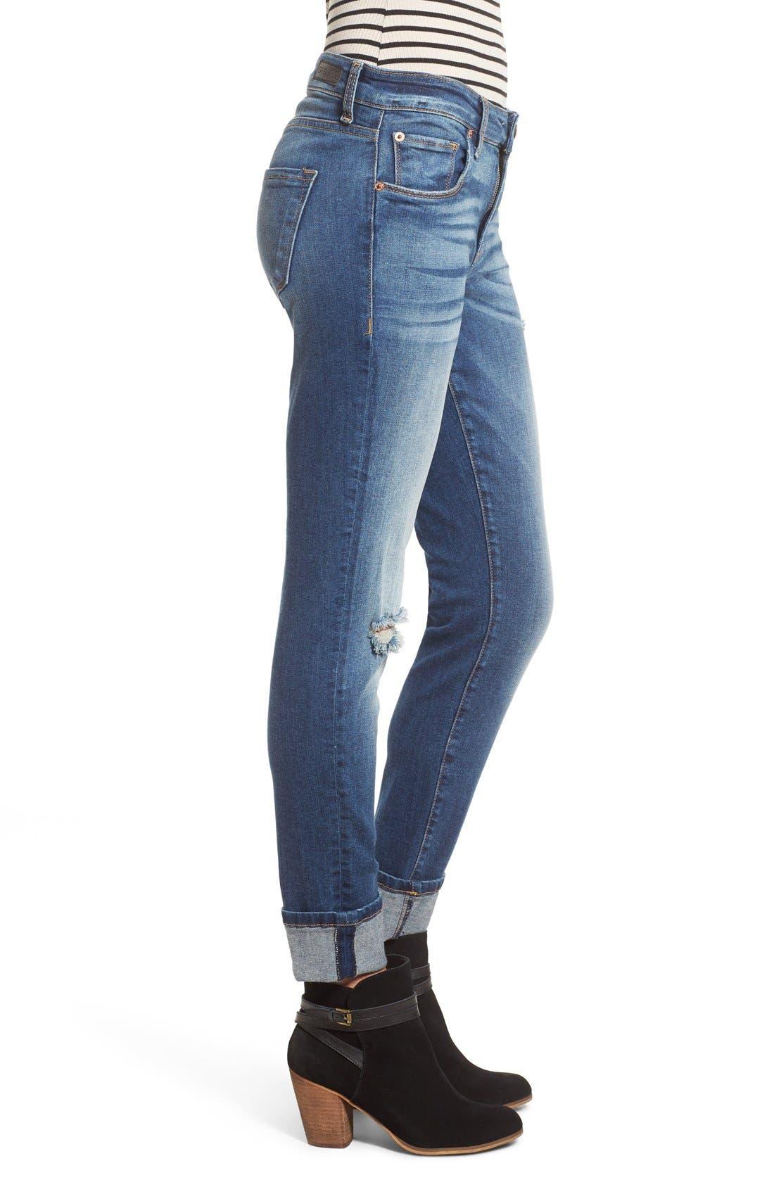 Alternate Image 3  - STS Blue 'Taylor Tomboy' Distressed Boyfriend Jeans (West San Clement)