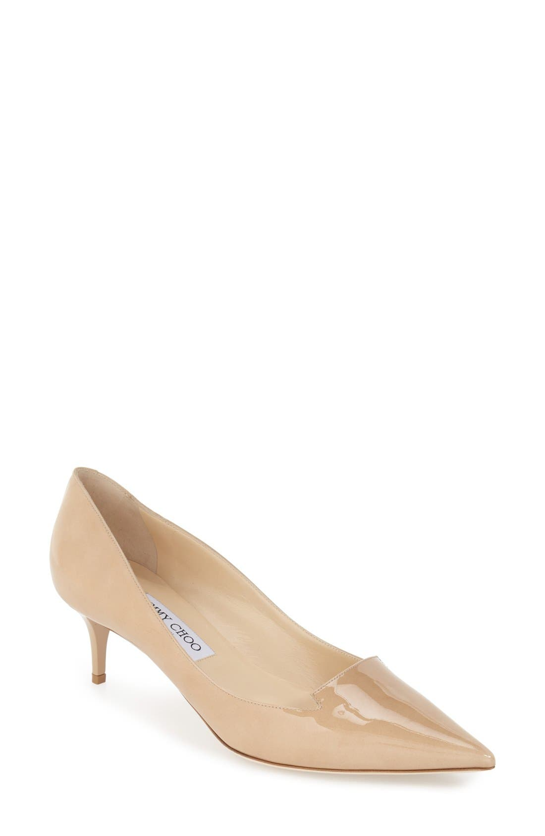 Alternate Image 1 Selected - Jimmy Choo 'Allure' Pointy Toe Pump (Women)