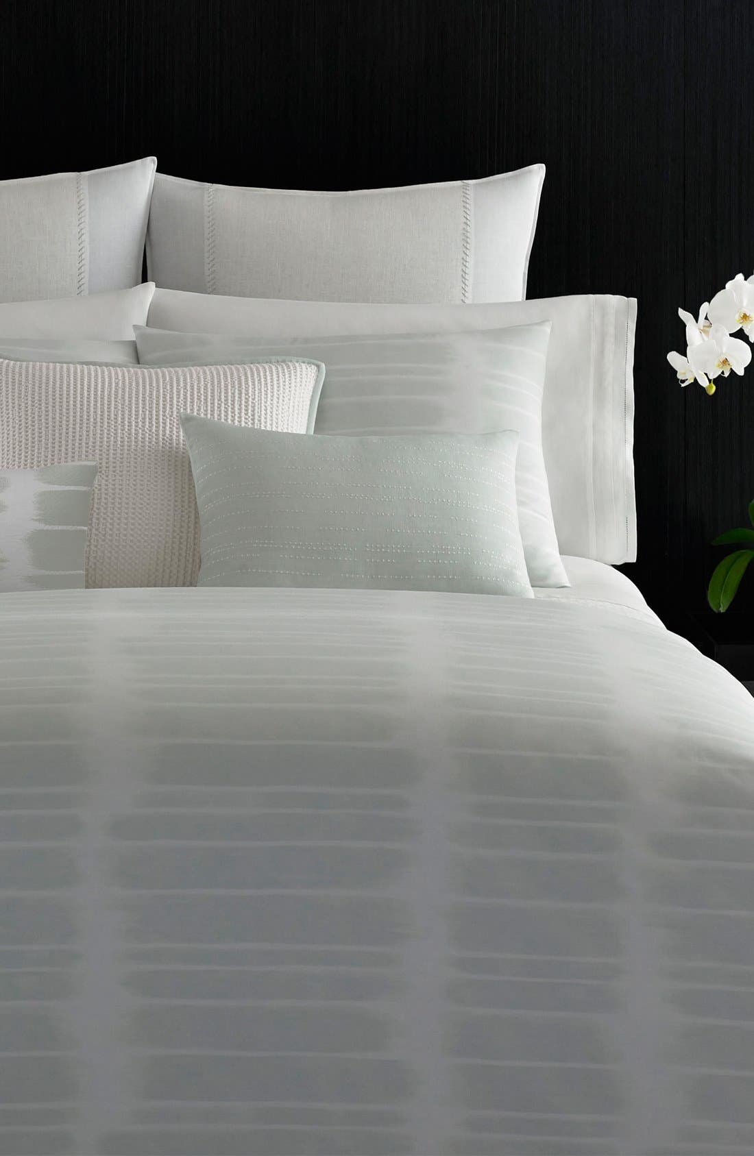 Vera Wang 'Painted Stripe' Duvet Cover