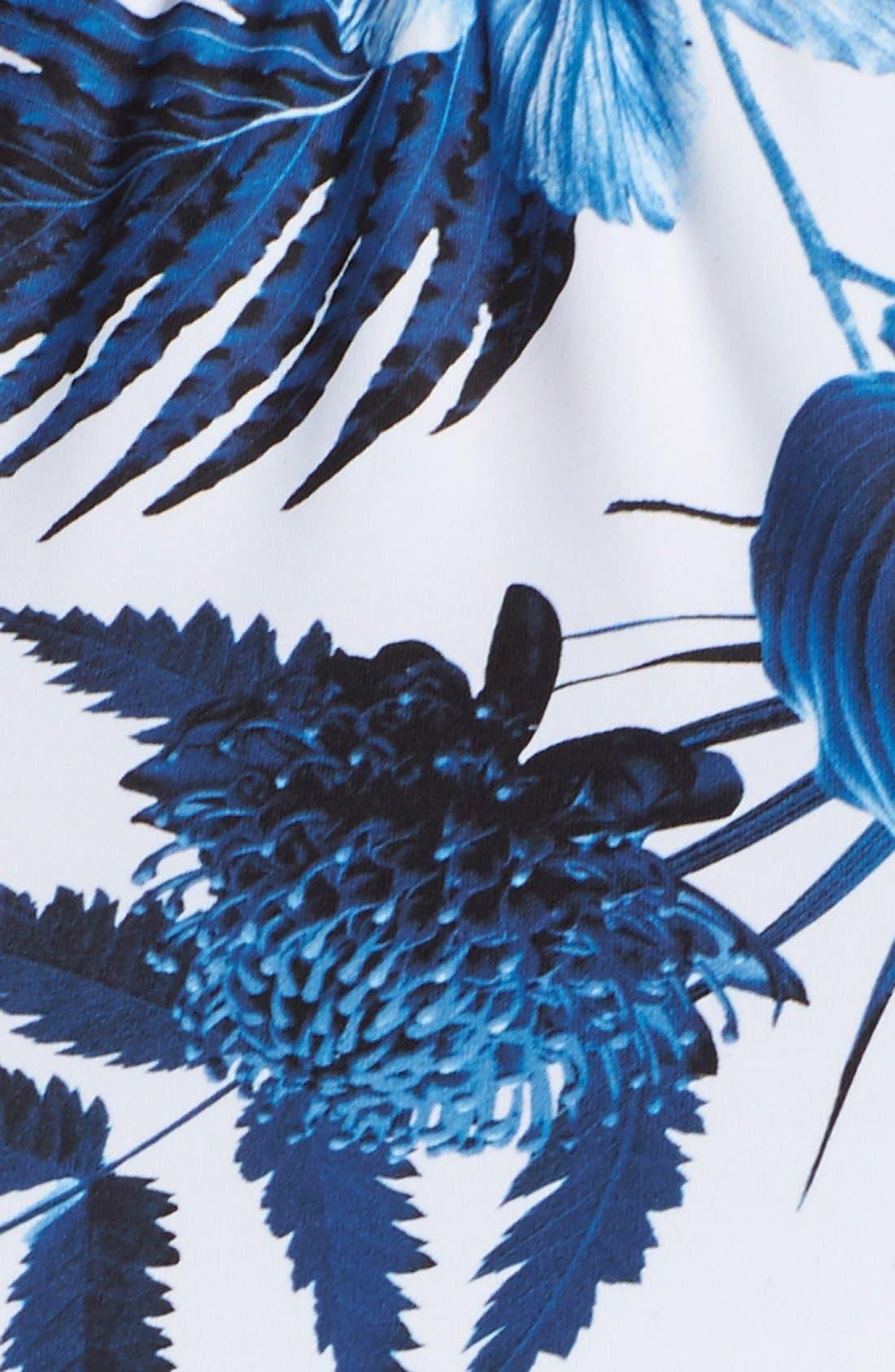 Alternate Image 6  - Seafolly 'Tropic Coast' Reversible High Neck Bikini Top