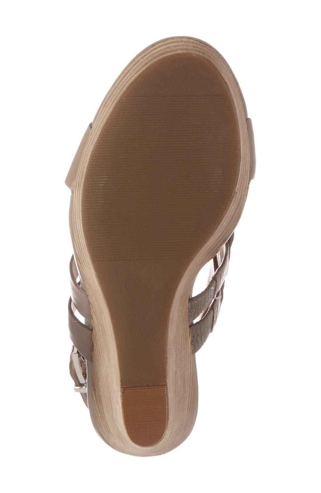 Alternate Image 4  - Sole Society 'Jenny' Slingback Wedge Sandal (Women)