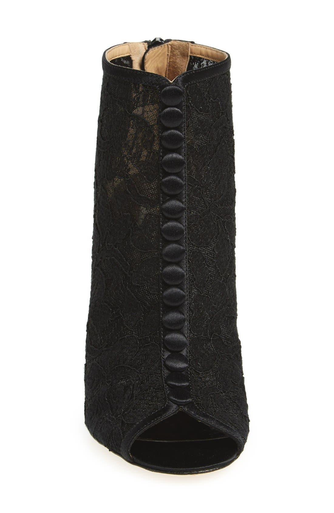 Alternate Image 3  - Badgley Mischka 'Nerina' Lace Bootie (Women)